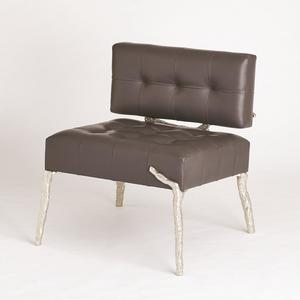 Thumbnail of Global Views - Bristol Branch Leather Chair