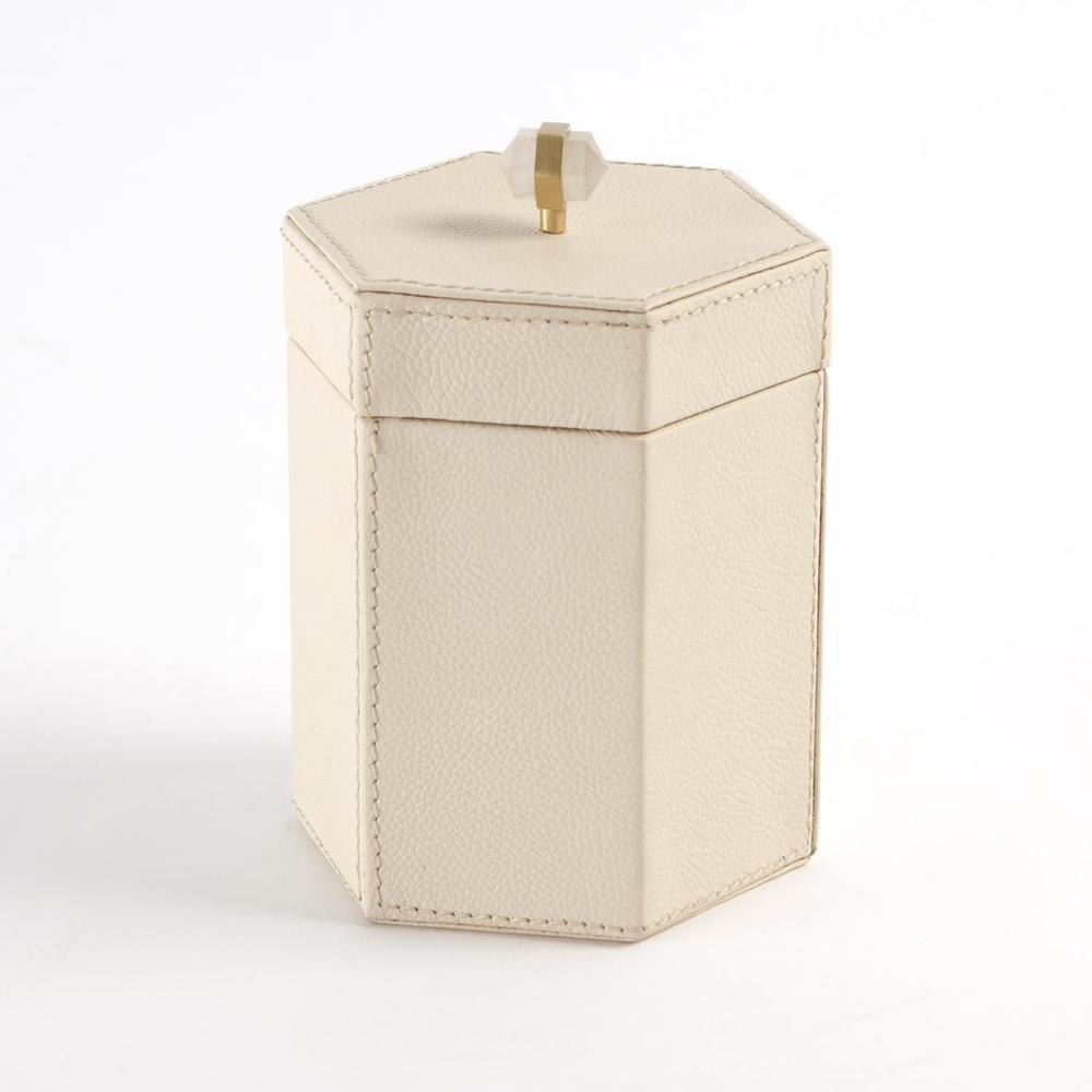 GLOBAL VIEWS - Tiffany Leather Box, Small