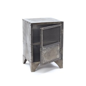 Thumbnail of Go Home - Vintage Steel Shoe Locker Accent Cabinet