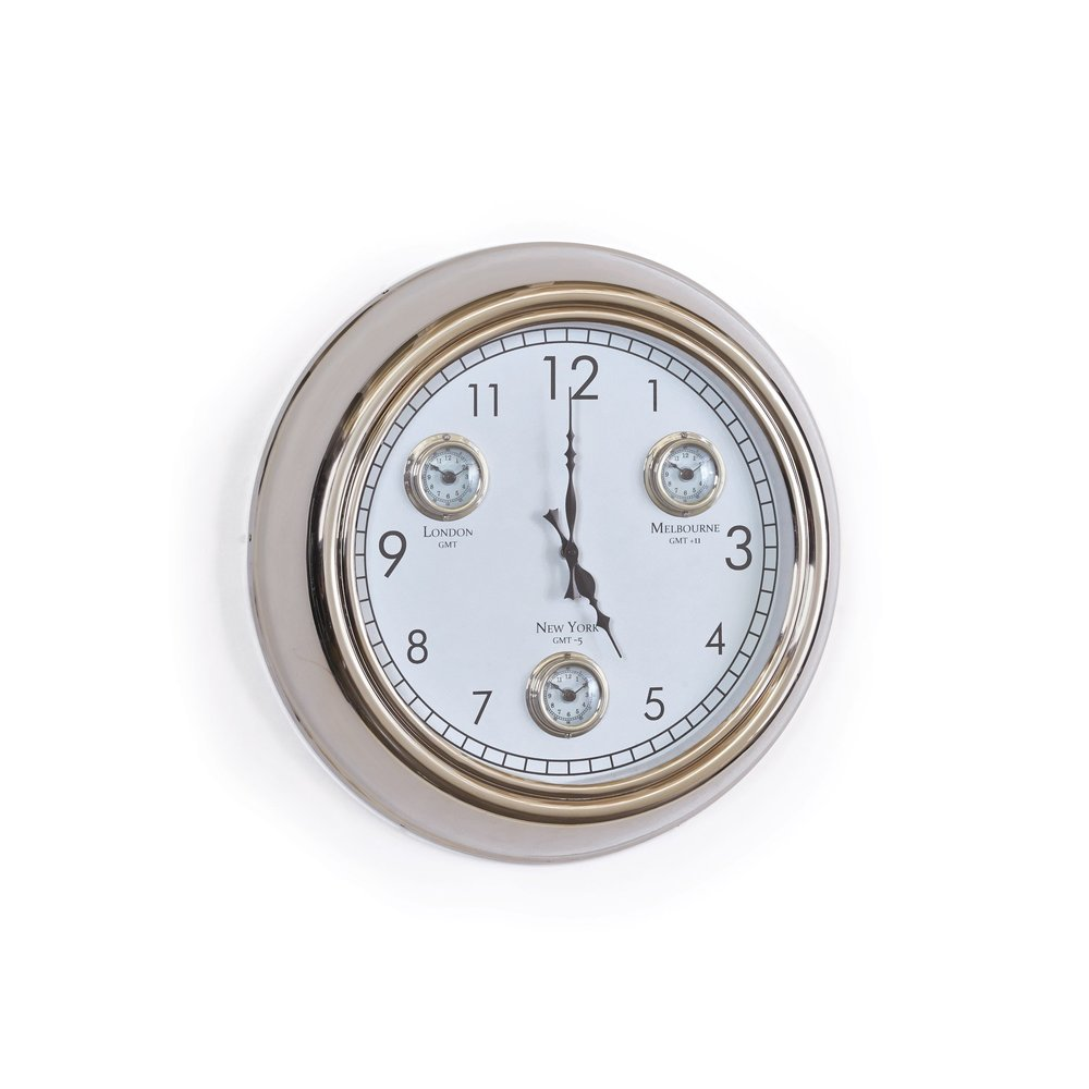 Go Home - Concierge Wall Clock