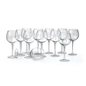Thumbnail of Go Home - Numerology Wine Glasses, Set/12