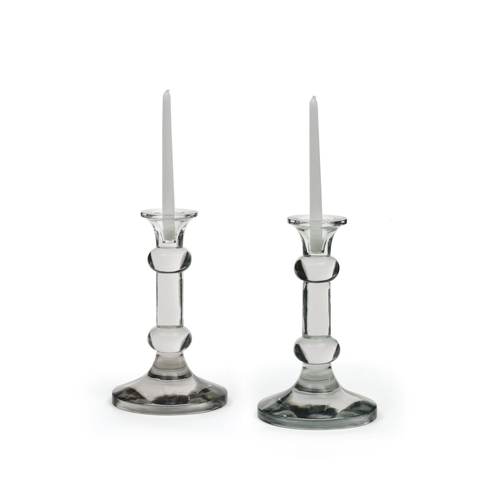 Go Home - Knobbed Candlesticks
