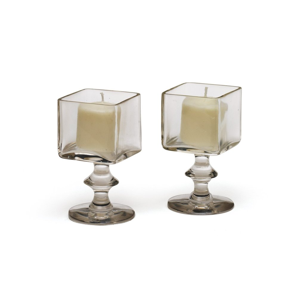 Go Home - Grand Square Candle Holders