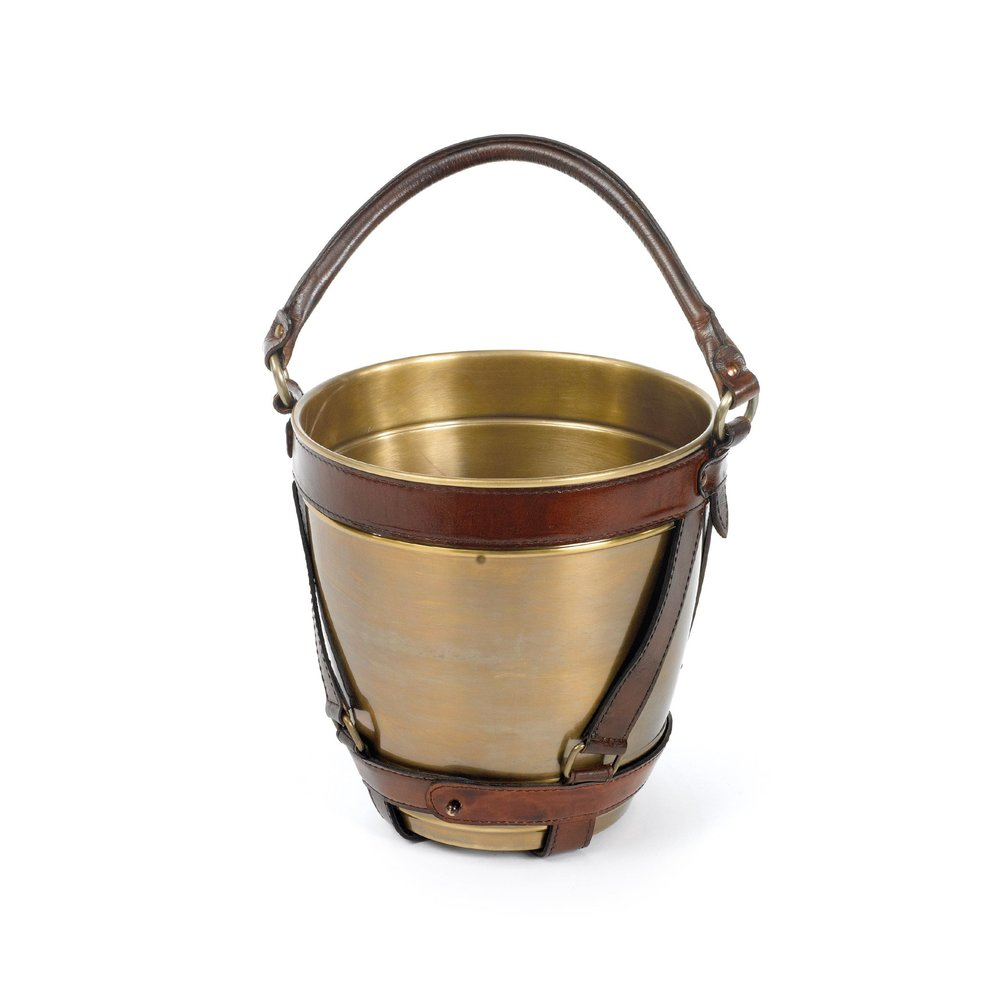 Go Home - Leather Handle Champagne Bucket