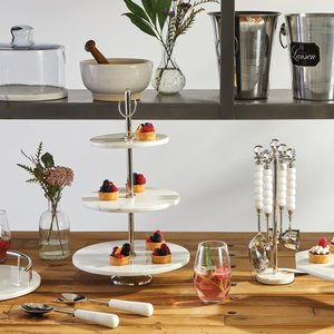 Thumbnail of Go Home - Marble Handled Serving Set