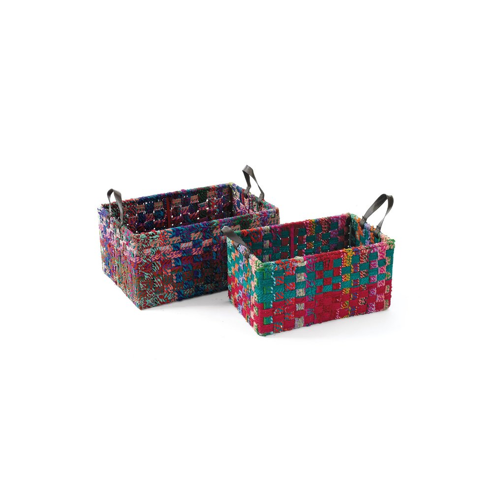 Go Home - Rectangle Woven Fabric Baskets