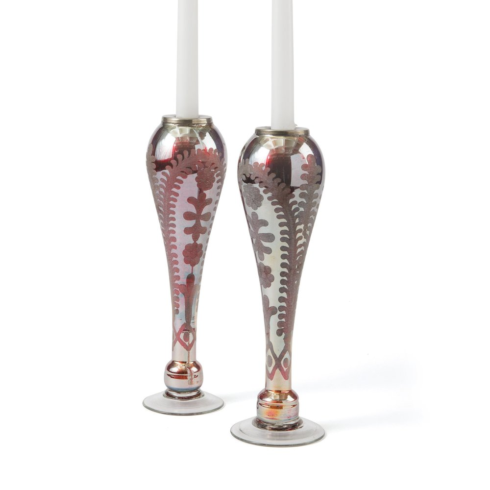 Go Home - Tear Drop Candle Holders, Pair
