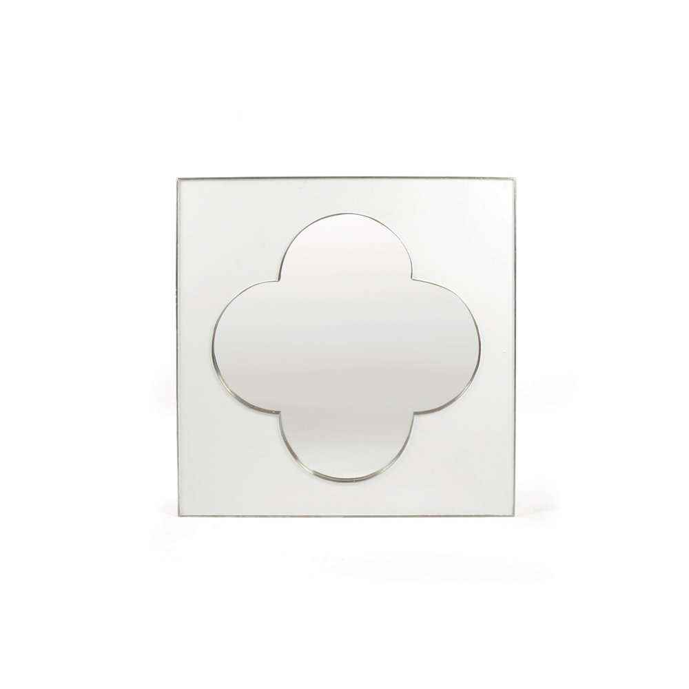 Go Home - White Clover Mirror