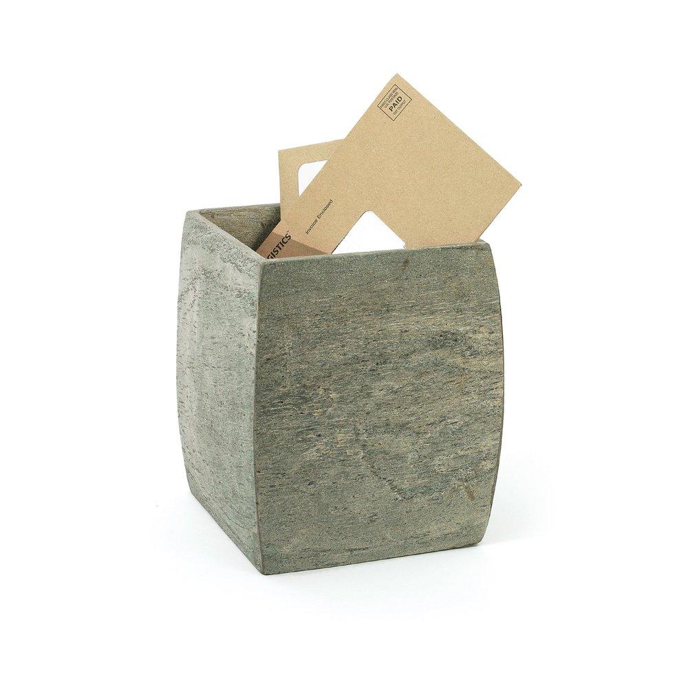 Go Home - Slate Waste Basket