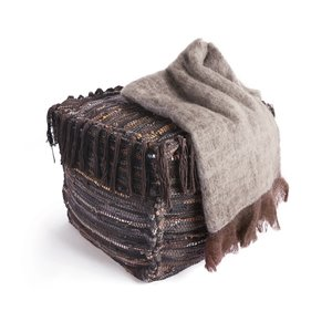 Thumbnail of Go Home - Brown and Beige Mohair Throw