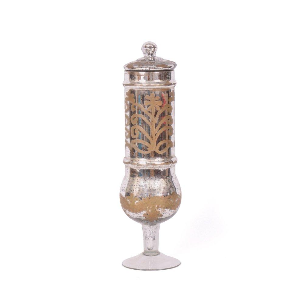 Go Home - Sheba Antique Gold Merc Jar with Lid