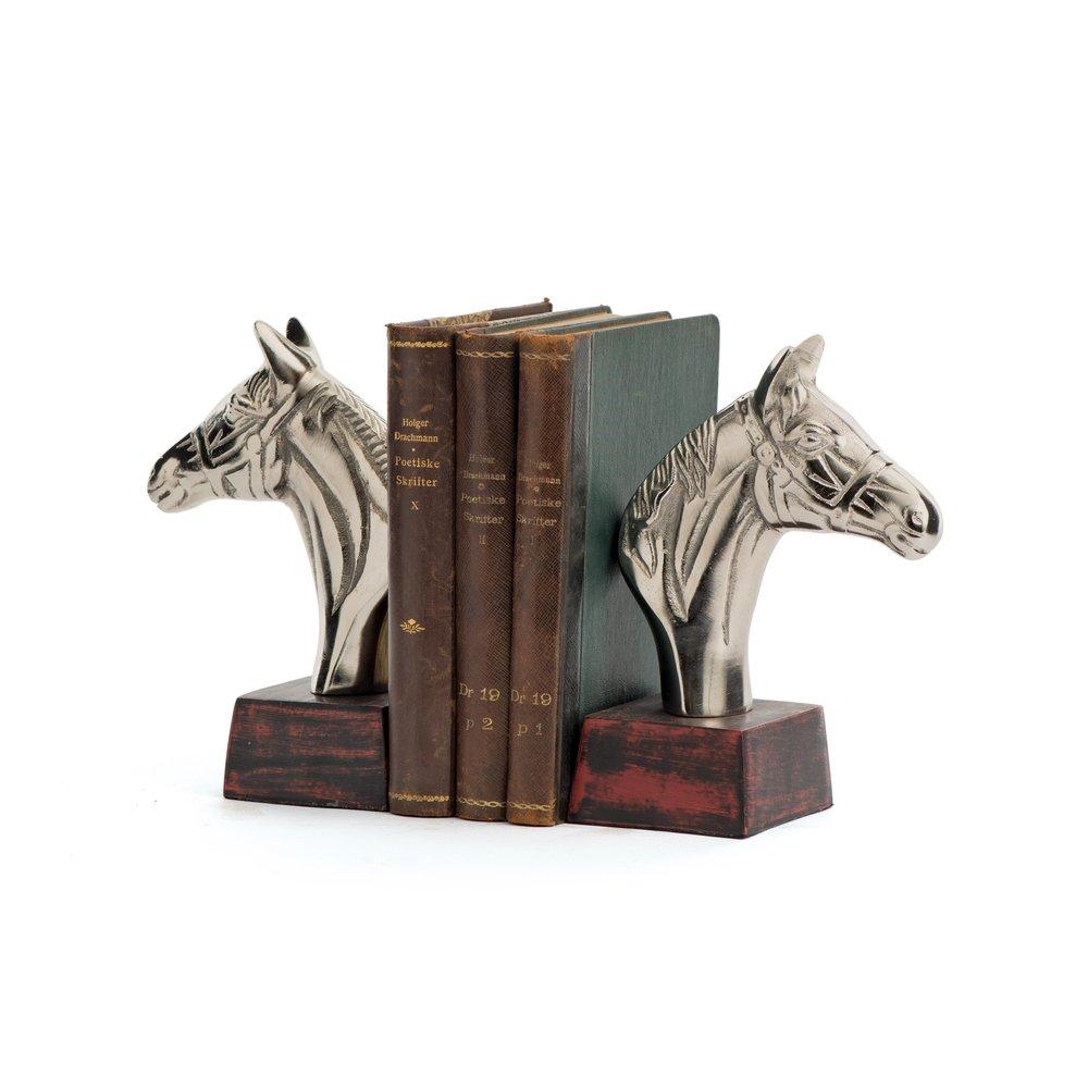 Go Home - Equestrian Book Ends