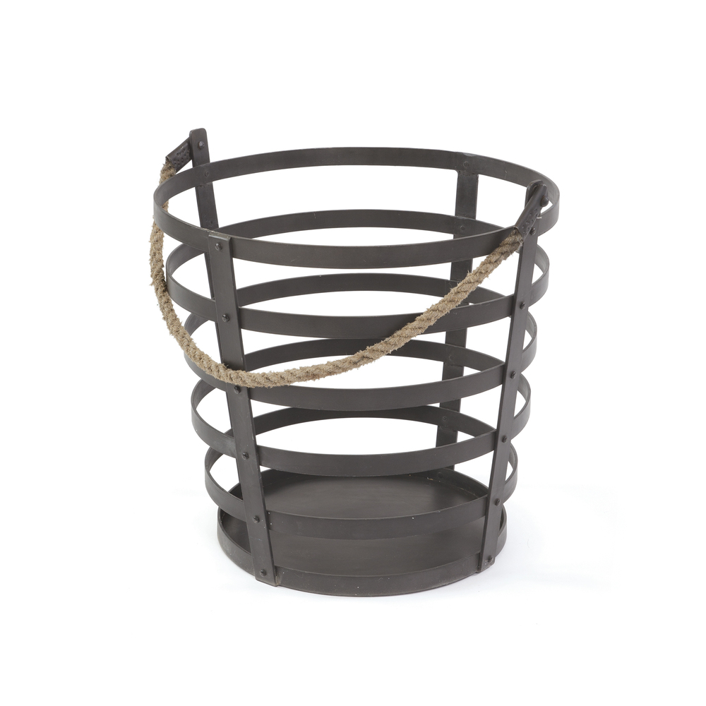 Go Home - Iron and Rope Basket