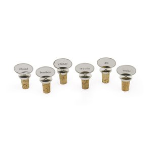 Thumbnail of Go Home - Set of Six Belfort Bottle Stoppers