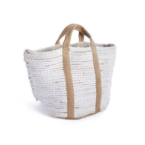 Thumbnail of Go Home - White Hemp and Cotton Tote Bag