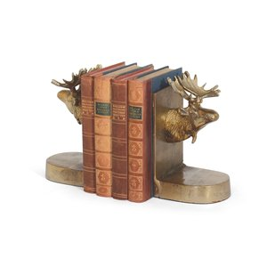 Thumbnail of Go Home - Moose Bookends, Pair