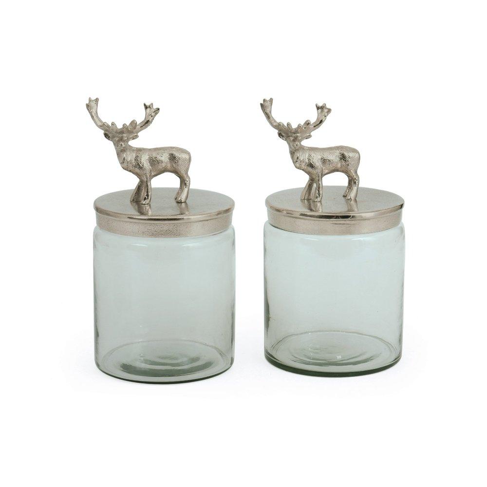 Go Home - Bambee Jars, Pair