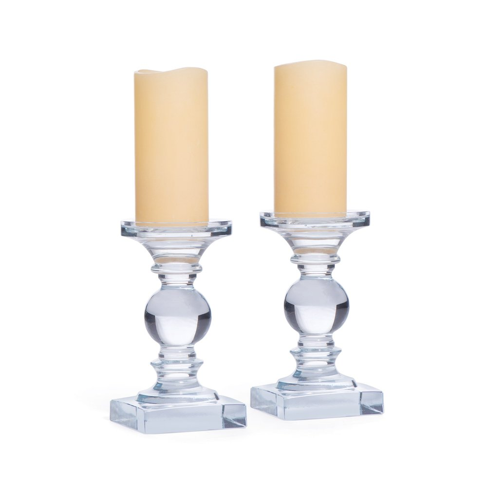 Go Home - Monroe Candlesticks, Pair