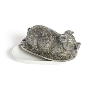 Thumbnail of Go Home - Pigsley Butter Dish