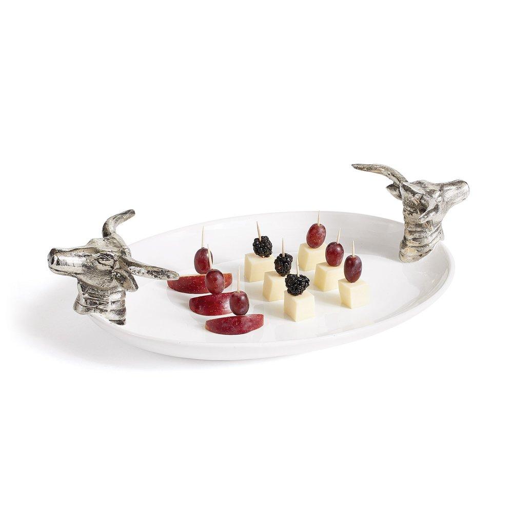 Go Home - Pilgrim Oval Ceramic Platter