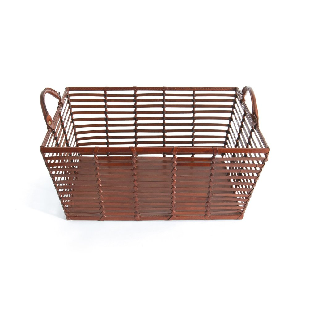 Go Home - Mitchell Leather Basket
