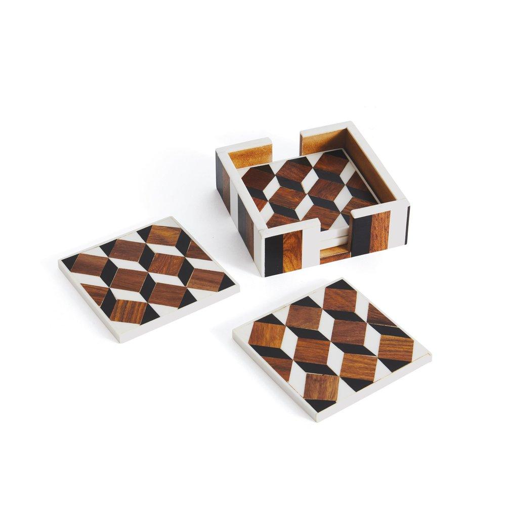 Go Home - Erica Coasters, Set/4