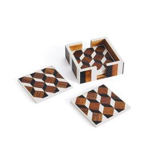 Thumbnail of Go Home - Erica Coasters, Set/4