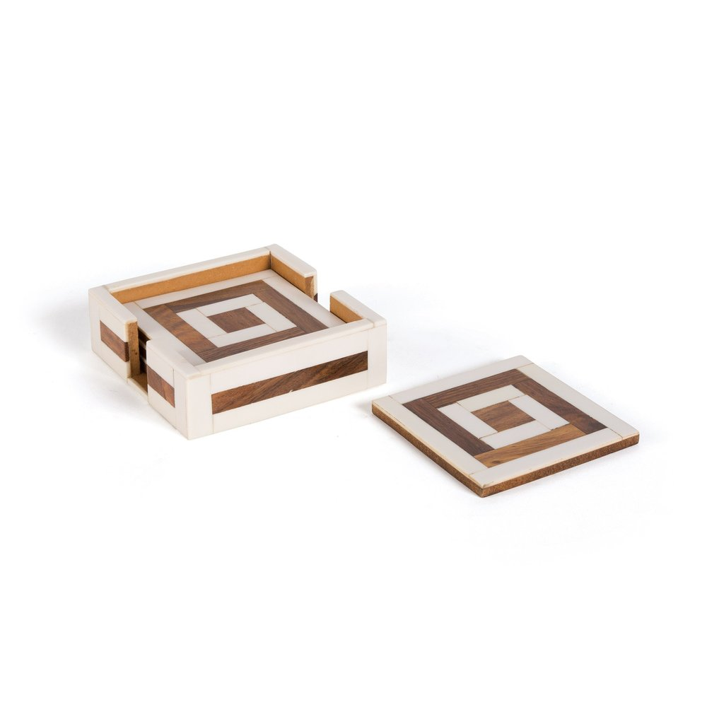 Go Home - Cava Coasters, Set/4