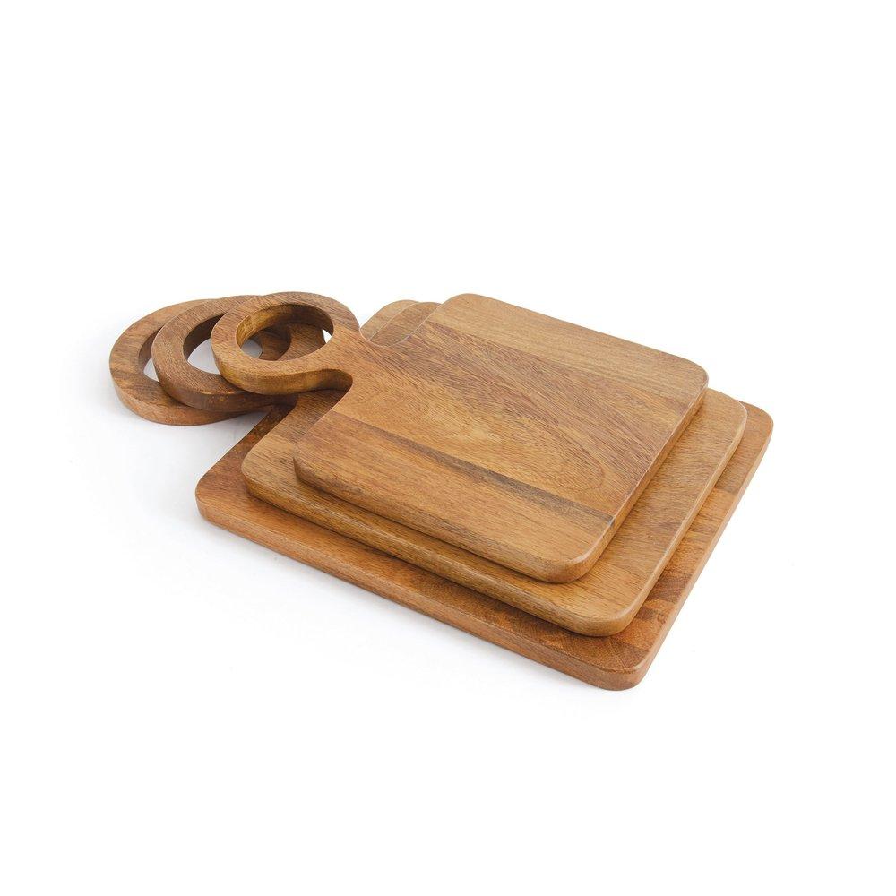 Go Home - Vesta Cheese Boards, Set/3