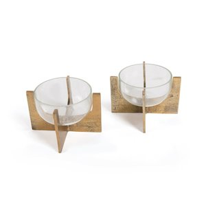 Thumbnail of Go Home - Paladin Candle Holders, Pair