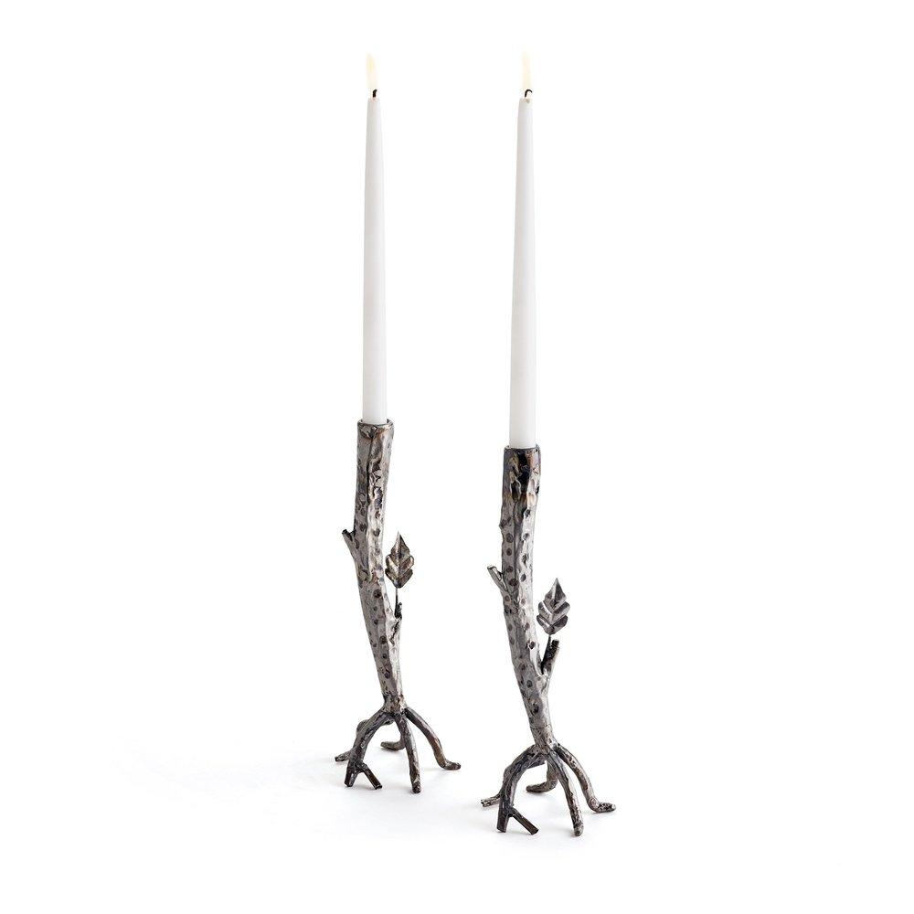 Go Home - Teigen Candlesticks, Pair