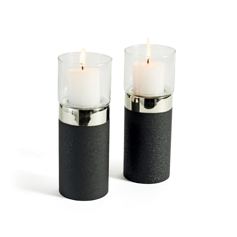 Go Home - Malone Candle Holders, Pair