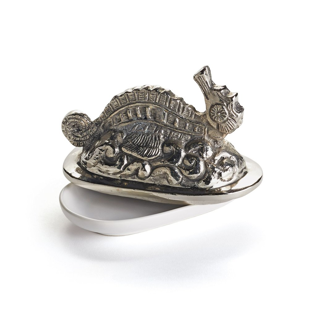 Go Home - Seahorse Butter Dish
