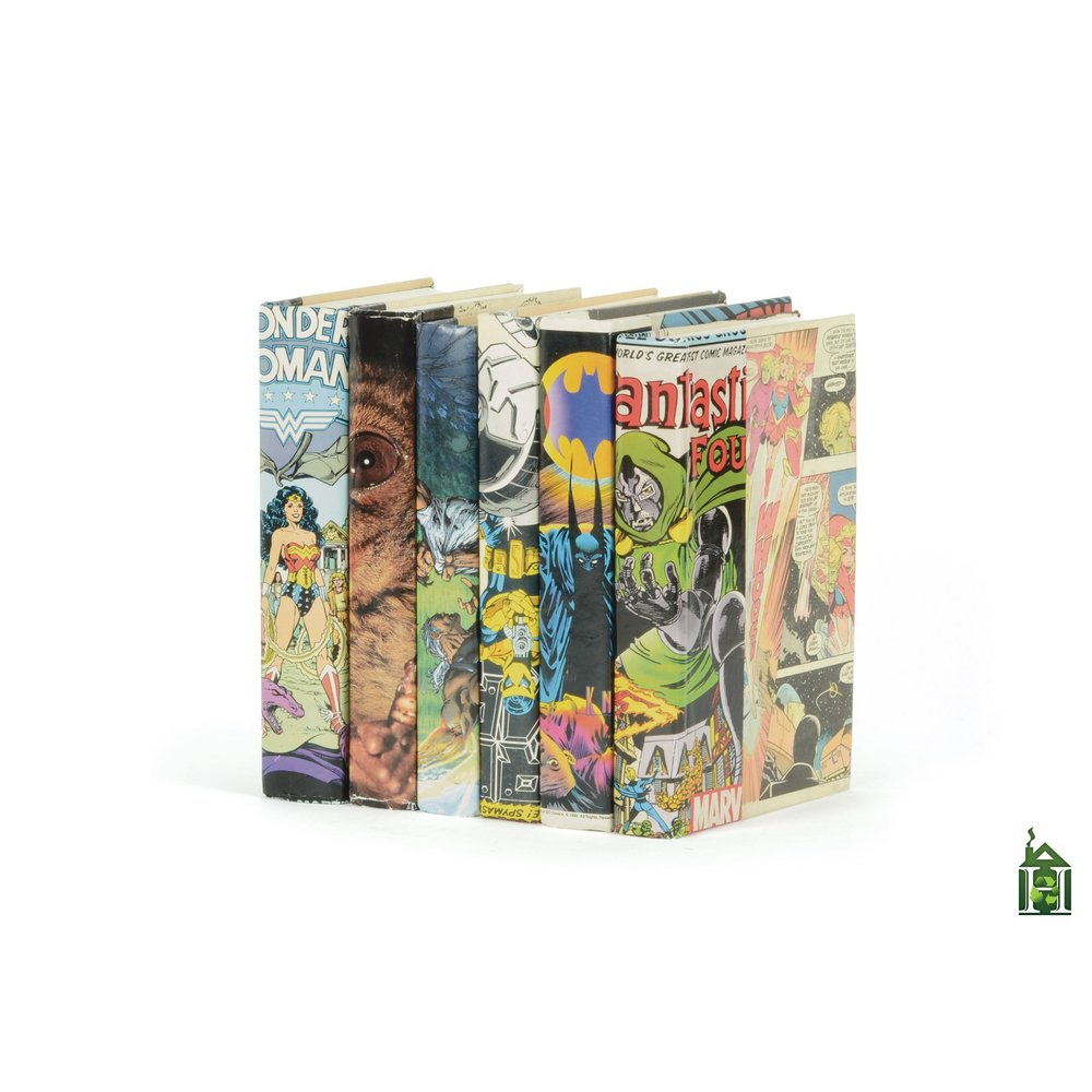 Go Home - Linear Foot of Vintage Comic Book Design Books