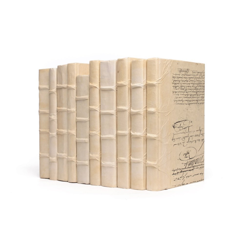 Go Home - Linear Foot of Solid Ivory Books