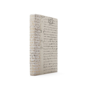 Thumbnail of Go Home - Linear Foot of Ivory Script Gold Leaf Books