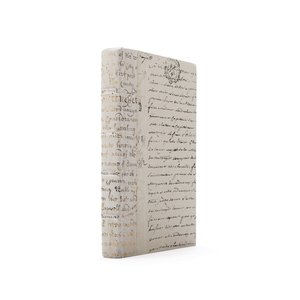 Thumbnail of Go Home - Single Ivory Script Gold Leaf Book