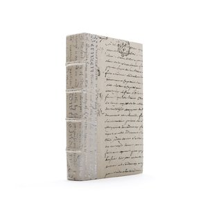 Thumbnail of Go Home - Single Ivory Script Silver Leaf Book