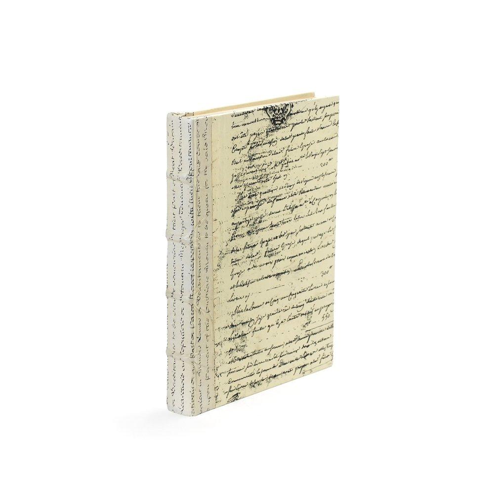 Go Home - Single Ivory Script Book