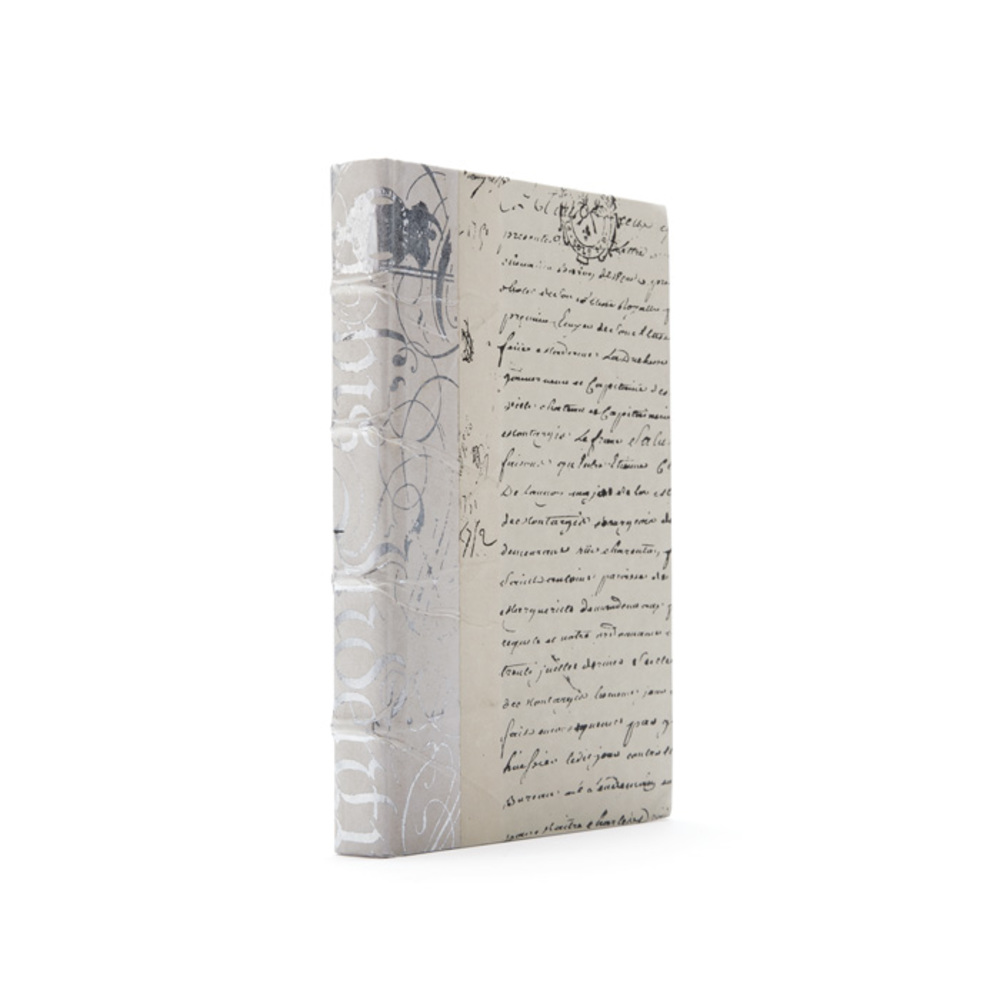Go Home - Linear Foot of Ivory Bold Silver Leaf Books