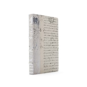 Thumbnail of Go Home - Single Ivory Bold Silver Leaf Book