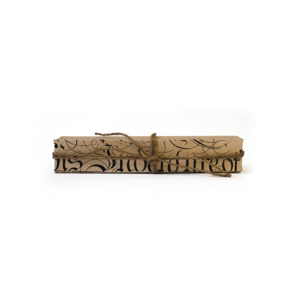 Go Home - Matchbox in Ivory Script