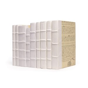 Thumbnail of Go Home - Linear Foot of Solid White Books