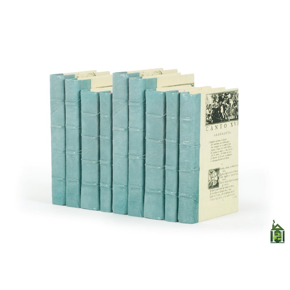 Go Home - Linear Foot of Shagreen Aqua Design Book Books