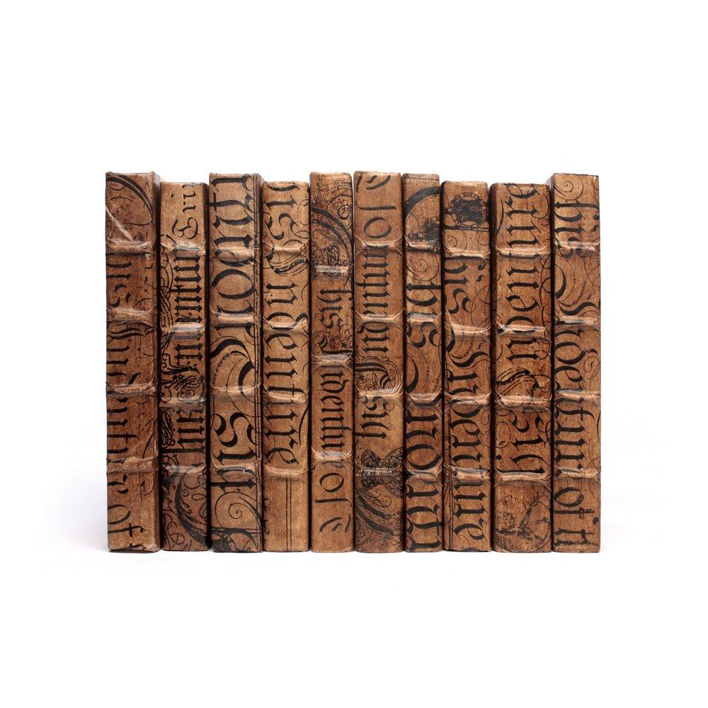 Go Home - Linear Foot of Cocoa Bold Spenserian Books