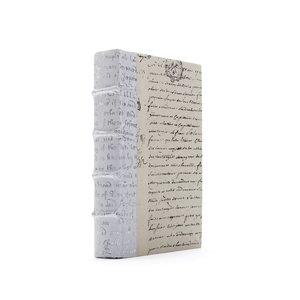 Thumbnail of Go Home - Single White Script Silver Leaf Book