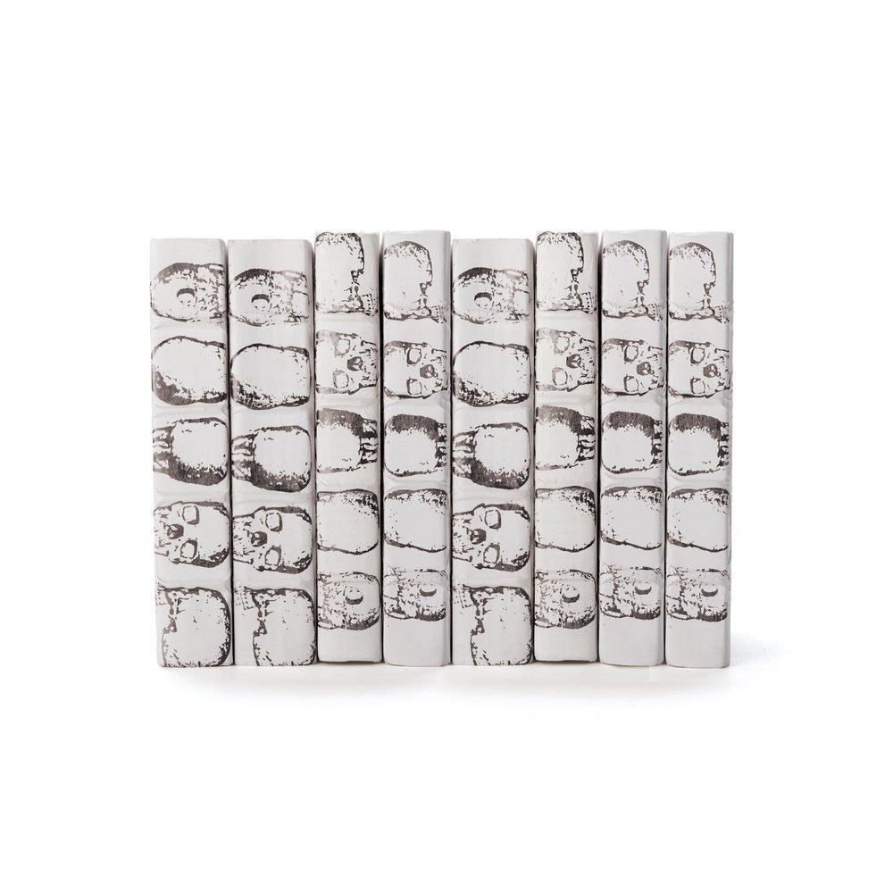 Go Home - Linear Foot of Skulls White Books