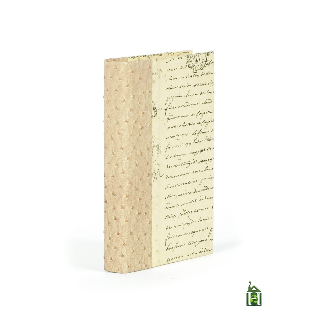 Go Home - Single Ostrich Tan Book
