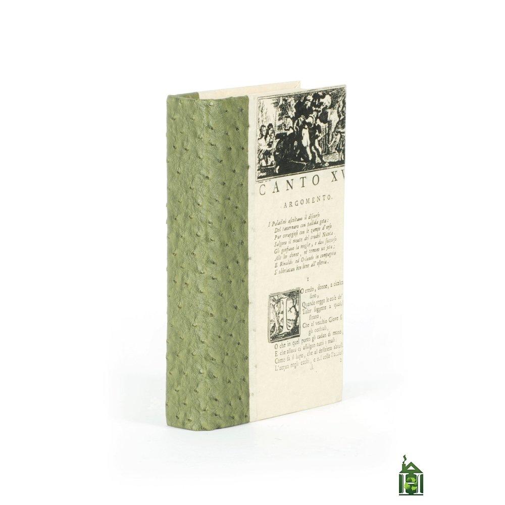 Go Home - Single Ostrich Moss Book