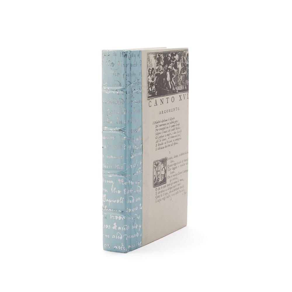 Go Home - Single Sky Script Silver Leaf Book